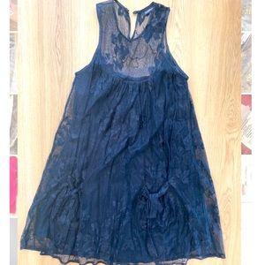 Zimmermann black lace dress